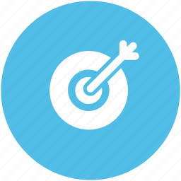 aim, bullseye, dartboard, goal, shooting, target icon