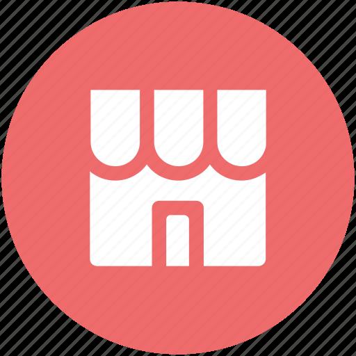 building, market, shop, store, supermarket, trade center icon