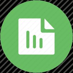 chart file, chart sheet, file, file editing, text sheet, texting icon