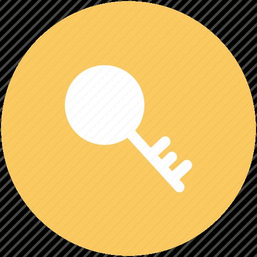 key, lock key, password, protection, safety, unlock icon