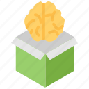 brain, brainstorming, creative, creative human, idea, innovation, solution icon
