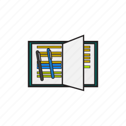 book, business, read icon