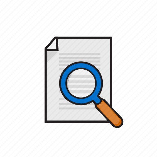 business, correction, document, file icon