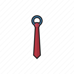 business, necktie, office icon