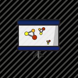 blackboard, business, meeting, presentation icon