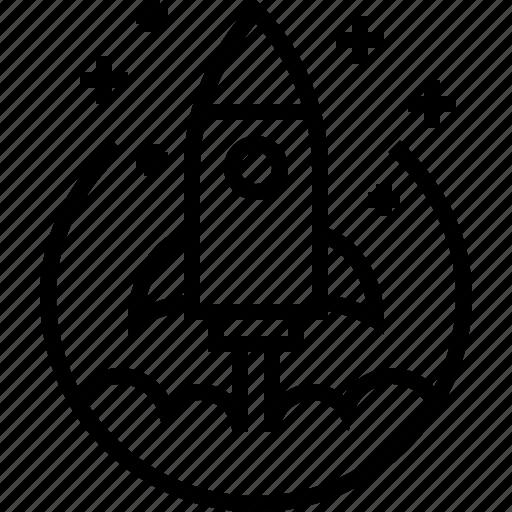 Business, rocket, space, start, startup icon - Download on Iconfinder