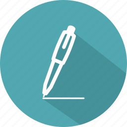 office, pen, pencil, school, writing icon