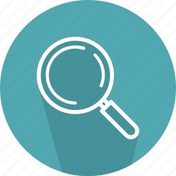 detective, glass, loupe, magnifying, search, tools, zoom icon