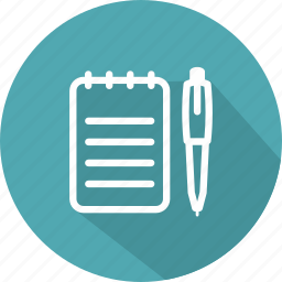 education, note, pen, pencil, tools, write, writing icon
