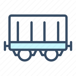 business, coach, delivery, railway, train, train coach, transportation icon