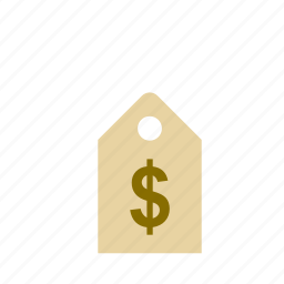 business, dollar, label, shop, shopping, store icon