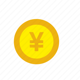 business, coin, currency, finance, japan, money, yen icon