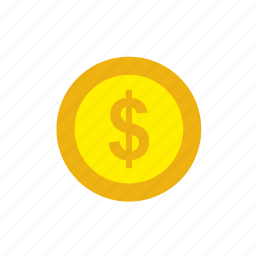 business, coin, currency, dollar, finance, money icon