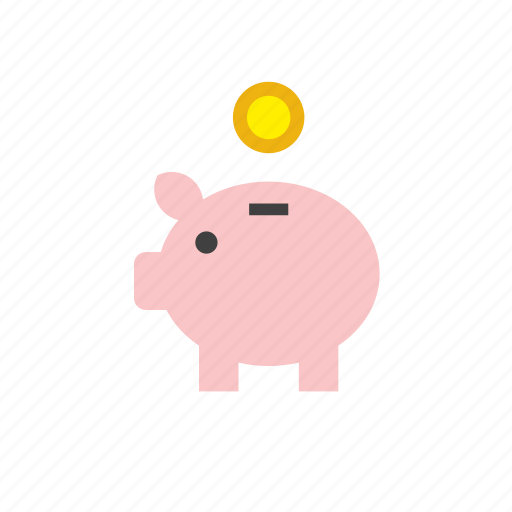 bank, business, coin, finance, piggy, piggy bank, piggybank icon