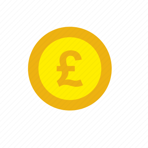 business, coin, currency, finance, money, pound icon