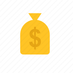 bag, bank, business, dollar, finance, money, sack icon