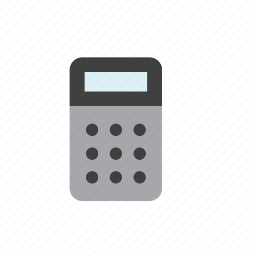 business, calculator, finance icon