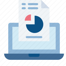 analysis, chart, graph, online, reporting, sales icon
