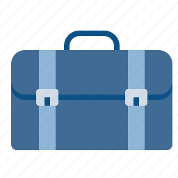 bag, briefcase, carry, luggage, office, portfolio, suitcase icon