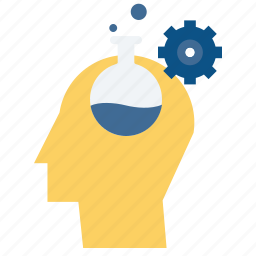 data, development, ooptimization, personal, personality, science, thinking icon