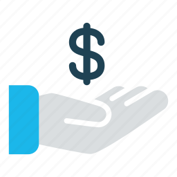 business, cash, cash out, dollar, donate, payment, revenue icon
