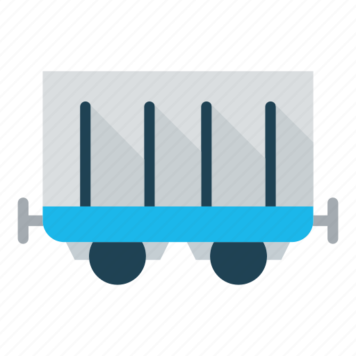 business, coach, delivery, logistics, railway, train coach, transportation icon