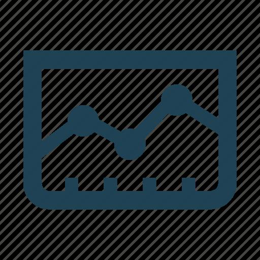analystic, analytic, chart, economy, graph, statistics, summary icon