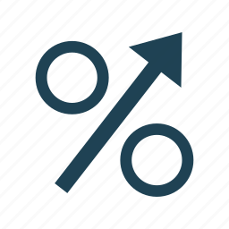 business, economy, increase, percentage, rewenue growth, solid, statistics icon