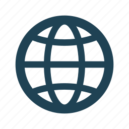 business, earth, globalization, globe, planet, solid, world icon