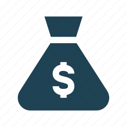 bank, budget, business, dollar, finance, investment, money bag icon