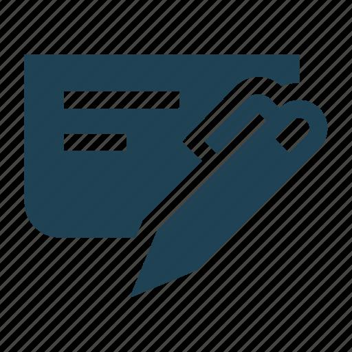 agreement, arrangement, business, document, register, registration, sign icon