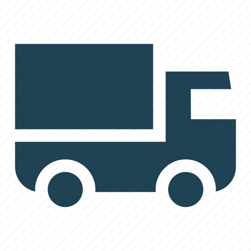 business, delivery, logistics, lorry, solid, transportation, truck icon