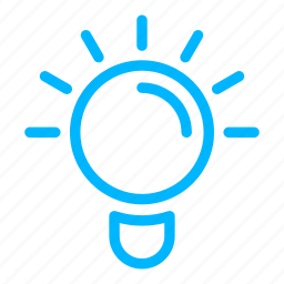 bulb, business, consulting, finance, idea icon
