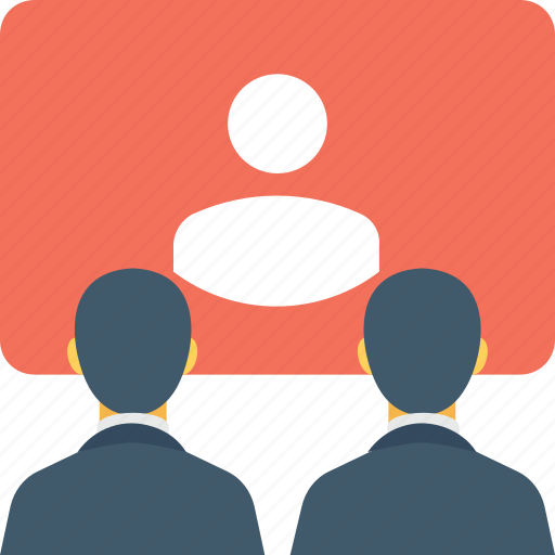 meeting, presentation, seminar, training, workshop icon