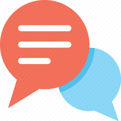 chat balloon, chatting, comments, sms, speech balloon icon