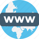 domain, internet, web, website, www icon
