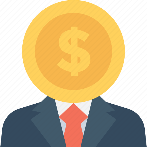 Businessman, accountant, businessperson, investor, financier icon