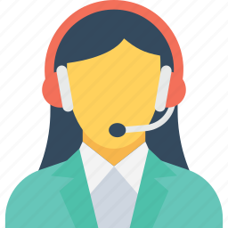 call center, customer service, customer support, helpline, representative icon