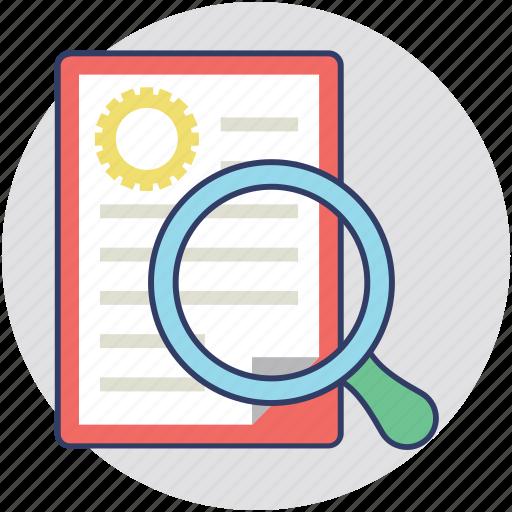 explore, investigate, research, search, study icon