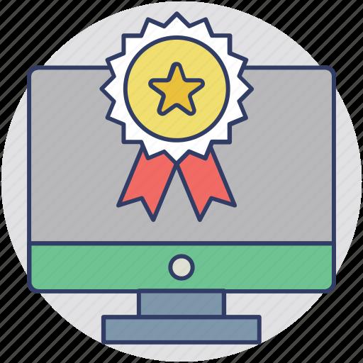 award for best website, award winning website, awarded website, web awards, website award icon
