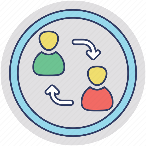 affiliation, emotional connection, personal connection, personal relationship, working relationship icon