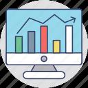 stock broker, online stock exchange, finance, online stock market, investment icon