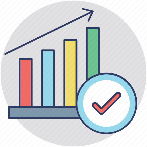 business analysis, business chart, business growth, business stat, financial profit icon