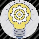 service innovation, marketing innovation, innovation research, technological innovation, value innovation icon
