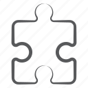 jigsaw, jigsaw puzzle, mind game, problem solving, puzzle, puzzle piece, tiling puzzle icon