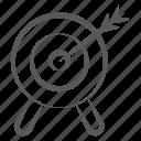aim, business goal, business target, dartboard, goal, objective