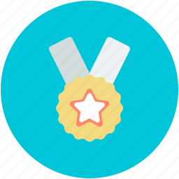 achievement, medal, position medal, prize, reward icon