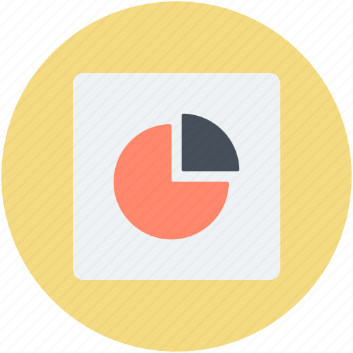 business analysis, business report, business statistics, financial report, graphical report icon