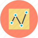 business graph, business growth, graph, growth chart, line chart icon