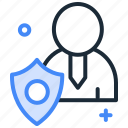 antivirus, firewall, protection, secure, security, shield icon